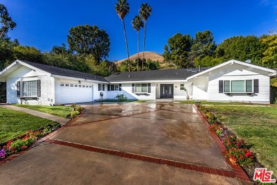 Woodland Single Family Home For Sale: 5215 Del Moreno Drive
