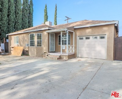 Panorama City Single Family Home For Sale: 8213 Lullaby Lane