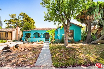 Los Angeles CA Single Family Home For Sale: $960,000