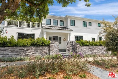 Santa Monica Single Family Home For Sale: 808 San Vicente Boulevard