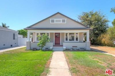 San Fernando Single Family Home For Sale: 1512 4th Street