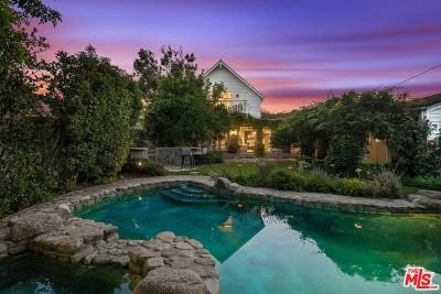 Toluca Lake Single Family Home For Sale: 4422 Placidia Avenue