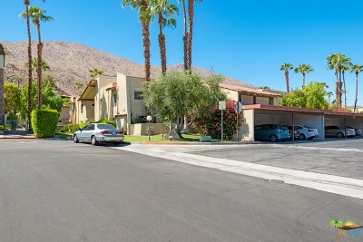 Palm Springs Condo/Townhouse For Sale: 250 E San Jose Road #72