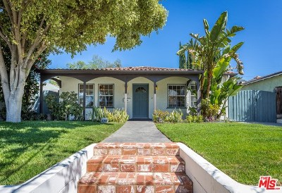 Studio City Single Family Home For Sale: 4458 Tujunga Avenue