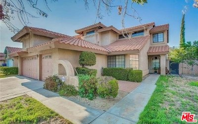 Palmdale Single Family Home For Sale: 5361 E Karling Place