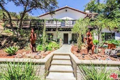 Topanga Single Family Home For Sale: 2365 Old Topanga Canyon Road