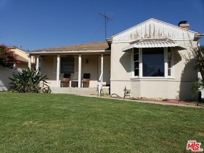 Burbank Single Family Home For Sale: 400 N Myers Street