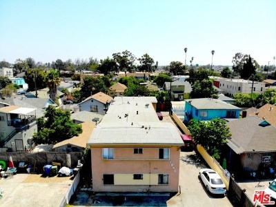 Los Angeles Multi Family Home For Sale: 1846 Cordova Street