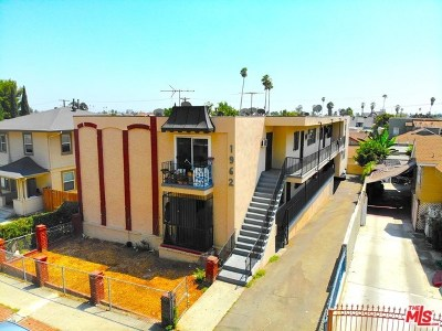 Los Angeles Multi Family Home For Sale: 1962 W 22nd Street