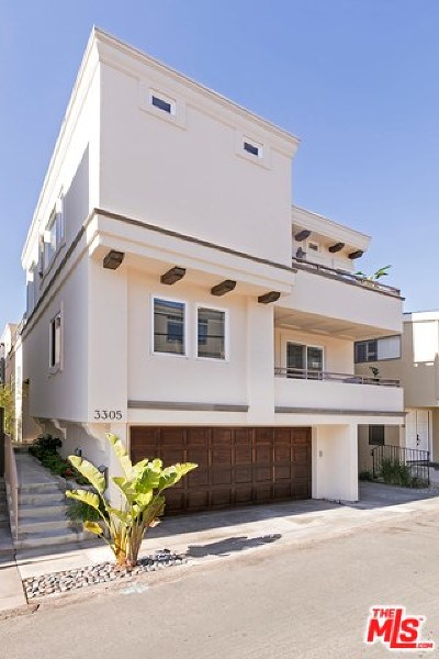 Manhattan Beach Condo/Townhouse For Sale: 3305 Vista Drive