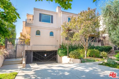 Sherman Oaks Condo/Townhouse For Sale: 14100 Dickens Street #2
