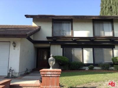Fullerton Single Family Home For Sale: 1631 Mariposa Lane