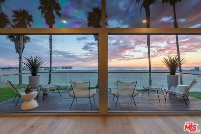 Venice Single Family Home For Sale: 2811 Ocean Front