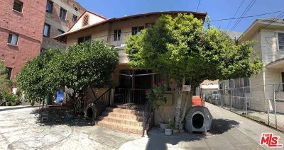 Los Angeles Multi Family Home For Sale: 1437 S Bonnie Brae Street