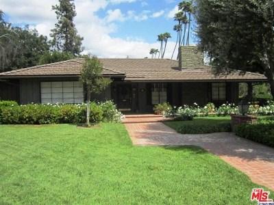 San Marino Single Family Home For Sale: 1616 Charlton Rd
