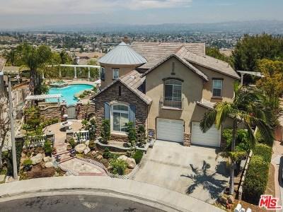 La Habra Single Family Home For Sale: 2040 S Nelson Court