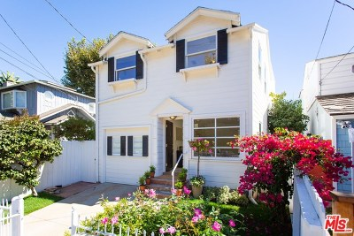 Santa Monica Single Family Home For Sale: 214 W Channel Road