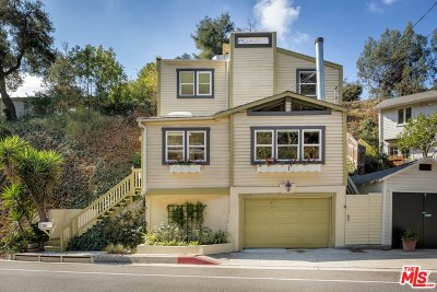 Los Angeles Single Family Home For Sale: 1523 N Beverly Glen