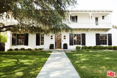 Santa Monica Single Family Home For Sale: 1105 Georgina Avenue