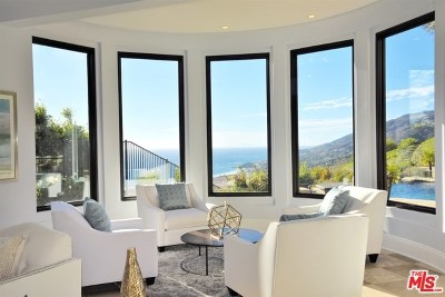 Malibu CA Single Family Home For Sale: $6,295,000