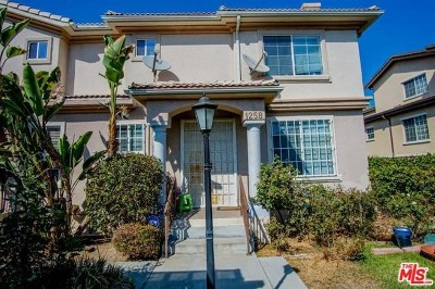 San Gabriel Condo/Townhouse For Sale: 1258 Elm Avenue