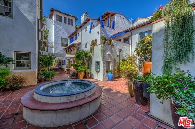West Hollywood Condo/Townhouse For Sale: 1414 N Harper Avenue #7