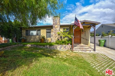 Los Angeles Single Family Home For Sale: 6037 W 78th Street