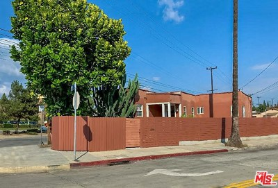 Los Angeles Single Family Home For Sale: 4717 Lomita Street