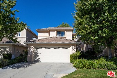 Stevenson Ranch Single Family Home Active Under Contract: 25561 Burns Place