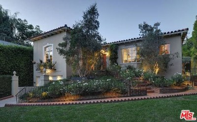 Los Angeles Single Family Home For Sale: 1136 N Doheny Drive