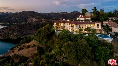 Los Angeles Single Family Home For Sale: 1940 Bel Air Road