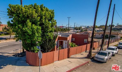 Los Angeles Multi Family Home For Sale: 4717 Lomita Street