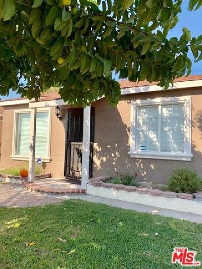 Norwalk Single Family Home For Sale: 12121 S Hayford Street