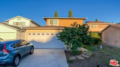 Carson Single Family Home For Sale: 17814 Lysander Drive