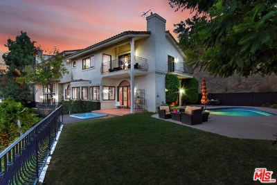 Sherman Oaks Single Family Home For Sale: 3666 Dixie Canyon Avenue