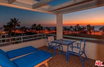 Santa Monica Condo/Townhouse For Sale: 110 Ocean Park Boulevard #505