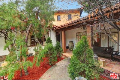 West Hollywood Single Family Home For Sale: 1538 N Crescent Heights
