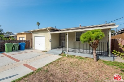 Torrance Single Family Home For Sale: 1405 W 227th Street