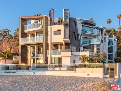 Santa Monica Condo/Townhouse For Sale: 270 Palisades Beach Road #203