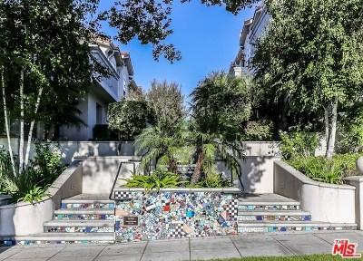 Burbank Condo/Townhouse For Sale: 731 E Olive Avenue