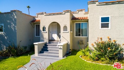 Los Angeles Multi Family Home For Sale: 1301 S Hudson Avenue