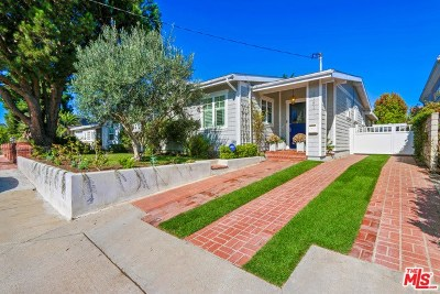 Manhattan Beach Single Family Home For Sale: 1151 9th Street