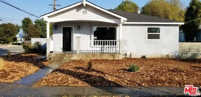 Arcadia Single Family Home For Sale: 2802 Mayflower Avenue