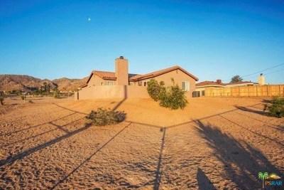 Joshua Tree Single Family Home For Sale: 61776 Navajo Trail
