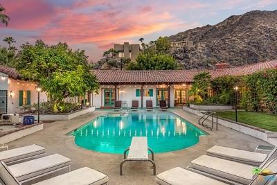 Palm Springs Single Family Home For Sale: 610 N Via Monte