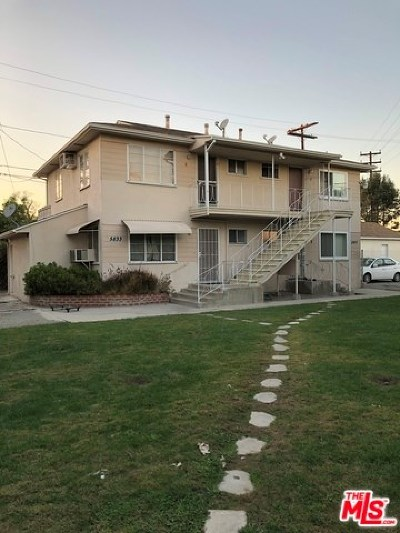 North Hollywood Multi Family Home For Sale: 5833 Cartwright Avenue