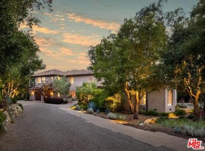 Santa Barbara County Single Family Home For Sale: 1429 School House Road