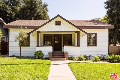 Pasadena Single Family Home For Sale: 1304 N Catalina Avenue