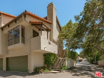 Santa Barbara County Condo/Townhouse For Sale: 1936 N Jameson Lane #A