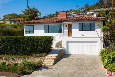 Santa Barbara County Single Family Home For Sale: 1237 E De La Guerra Street